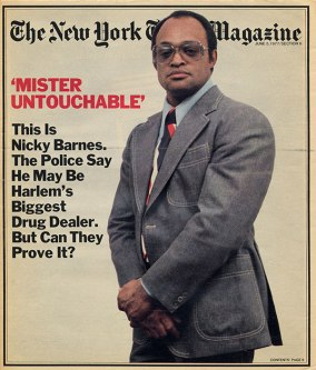 Nicky Barnes 1977 NY Times Magazine cover Mr Untouchable movie image